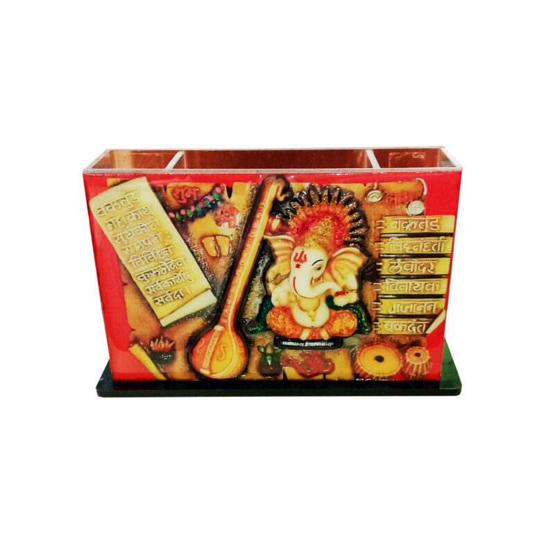 pen stand - 3d Ganesh image view 3