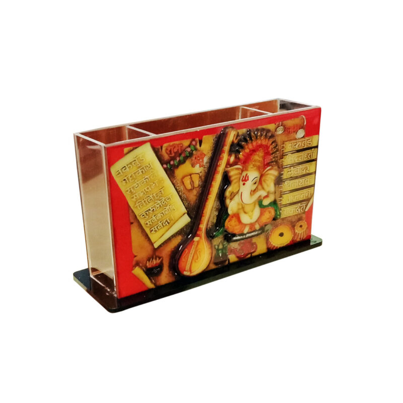 pen stand - 3d Ganesh image view 2