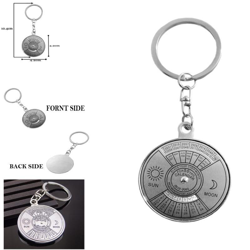 calender keychain