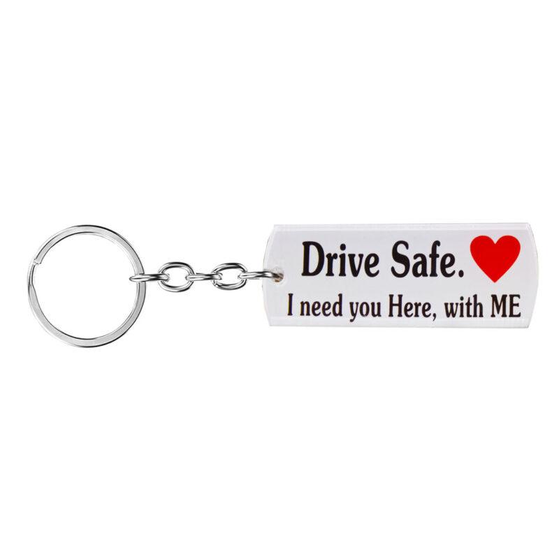 acrylic drive safe keychain image view 7