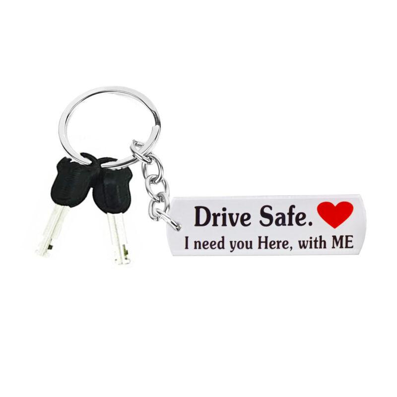 acrylic drive safe keychain image view 4