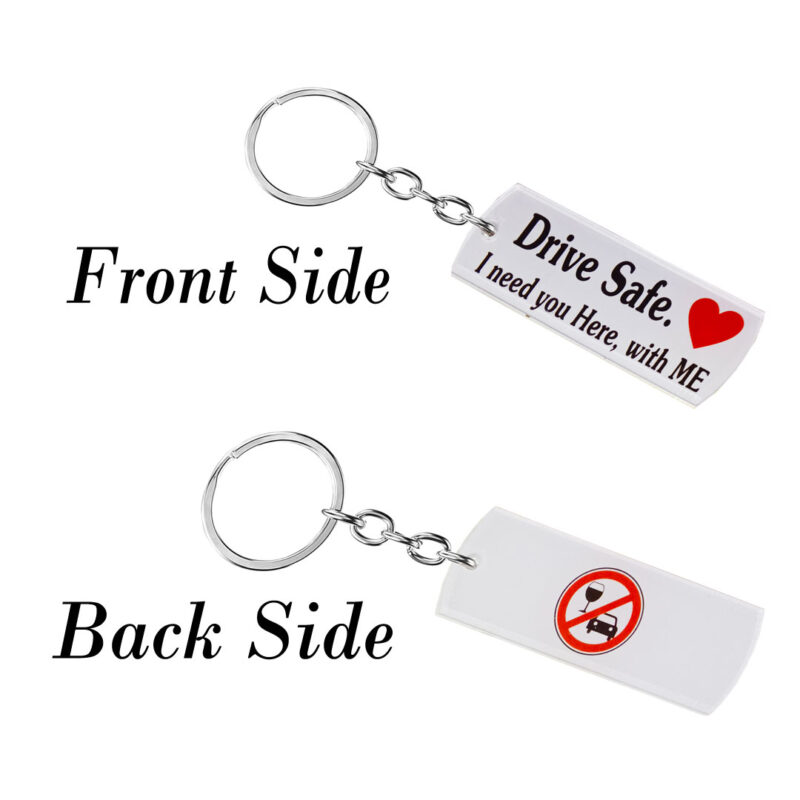 acrylic drive safe keychain image view 2