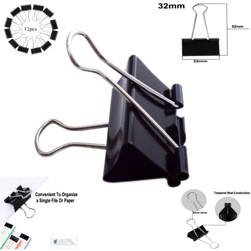 binder clips 32 mm image