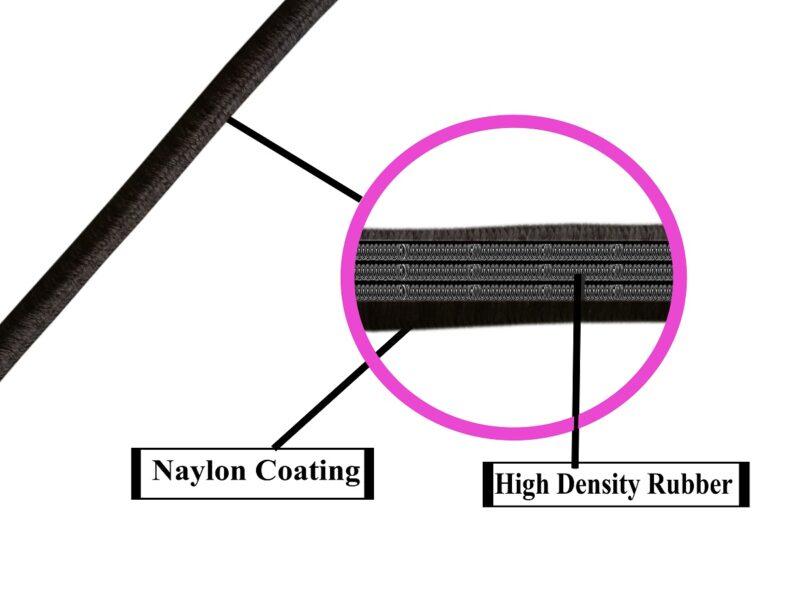 elastic rope -black image view 4