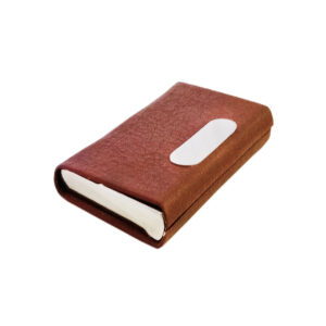 brown card holder image view 7
