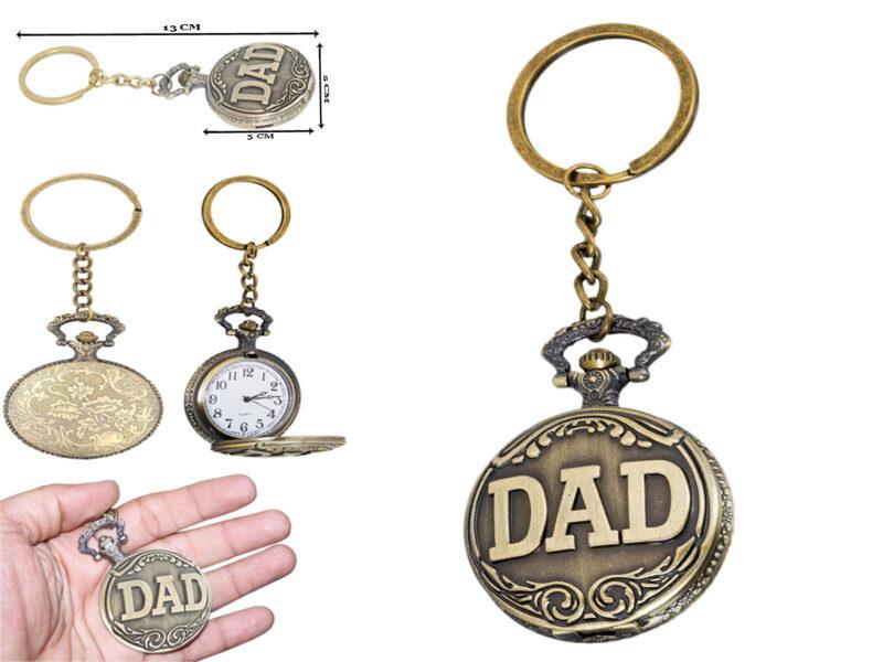 dad watch keychain