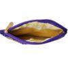 golden blue purse image view 2