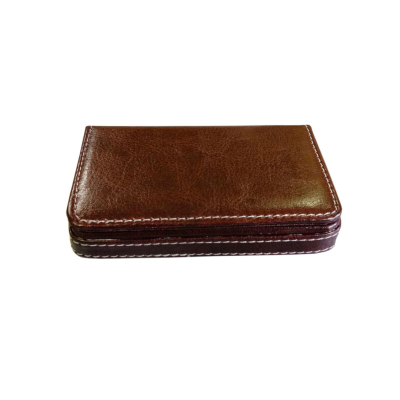 leather card holder square - image view 9