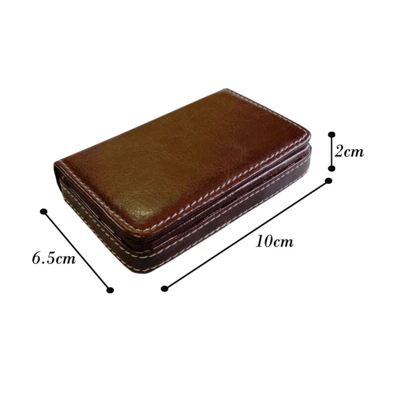 leather card holder square - image view 8
