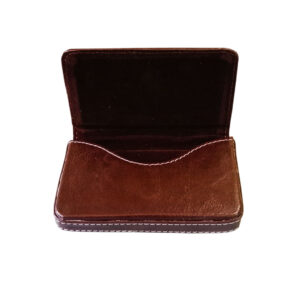 leather card holder square - image view 7