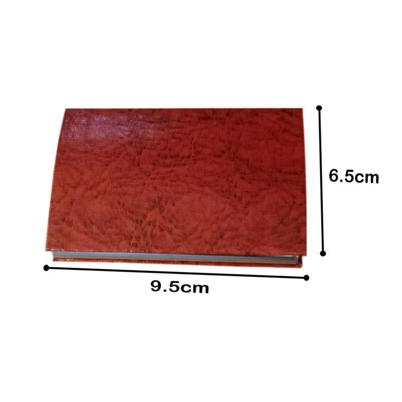 card holder matel - brown color image view 9