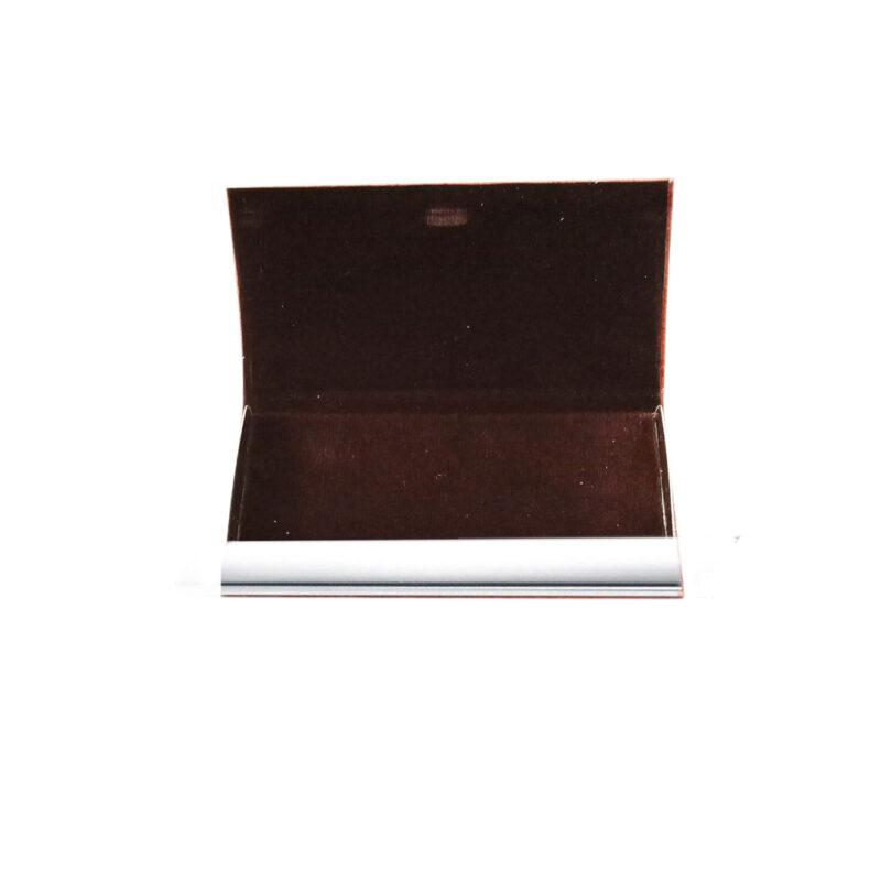 card holder matel - brown color image view 8