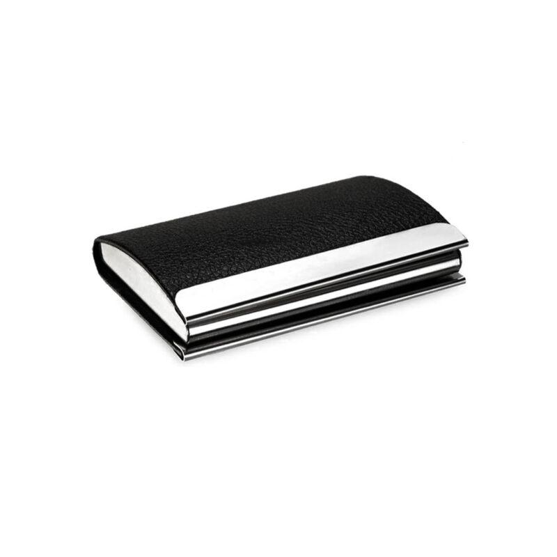 metal card holder -black image view 6