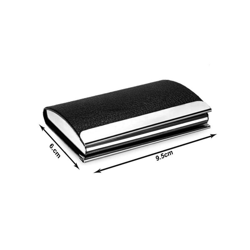 metal card holder -black image view 5