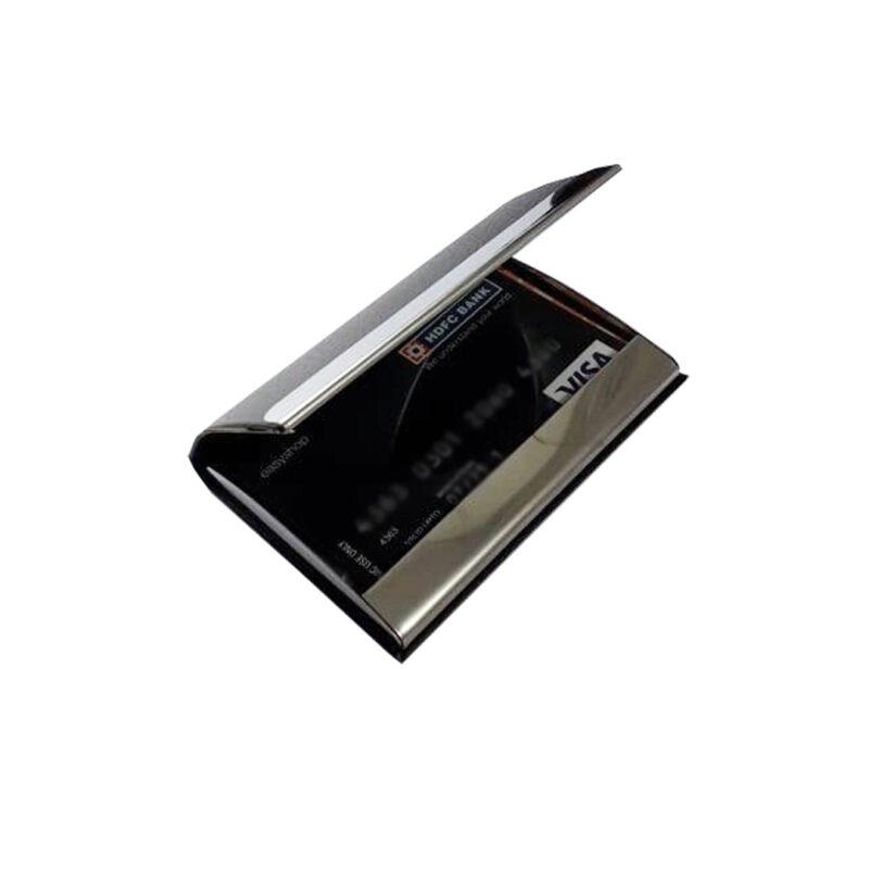 metal card holder -black image view 3