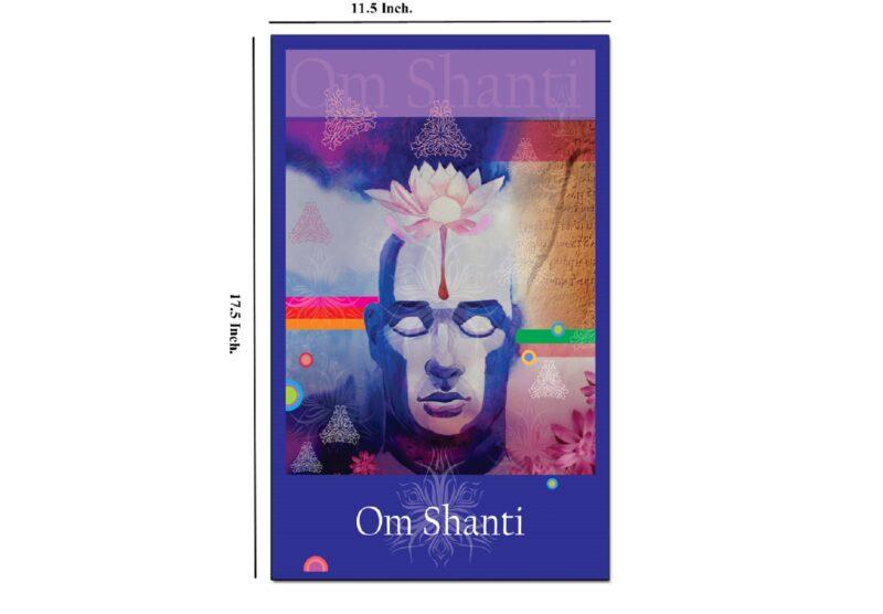 Digital painting - Om shanti image view 4