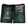 passport folder - brown image view 4