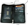 passport folder - brown image view 3