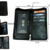 passport folder - brown
