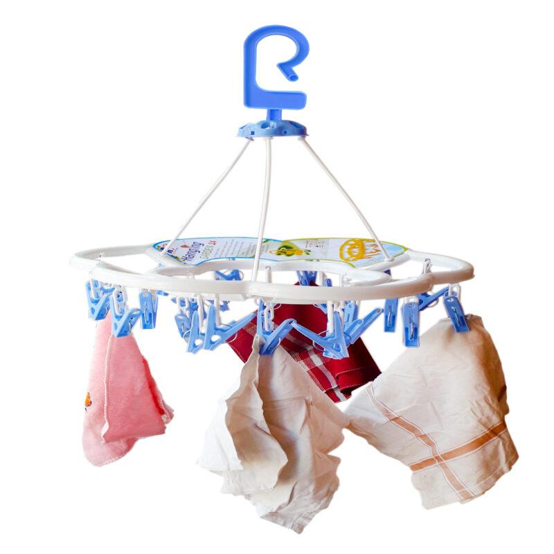 24 clip round hanger image view 5