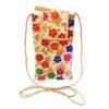 multicolor mobile saree pouch image view 5