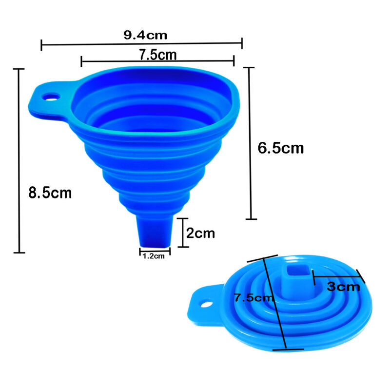 silicone funnel image view 5