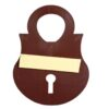 lock and key - wall holder image view 2