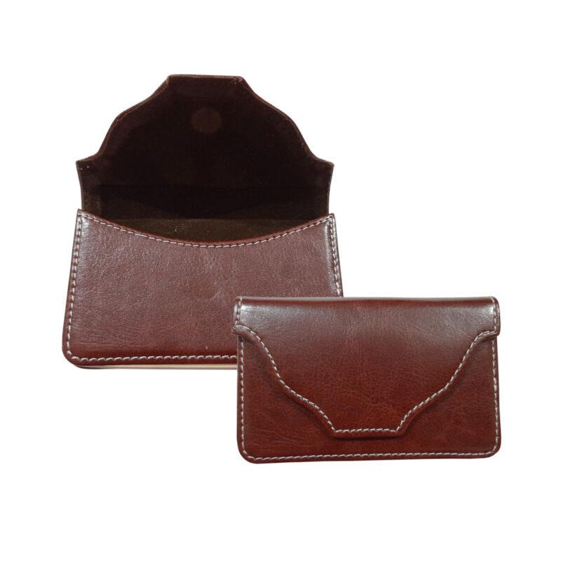 rectangle brown card holder