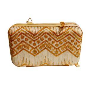 golden box clutch