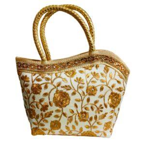 golden handbag image view 12