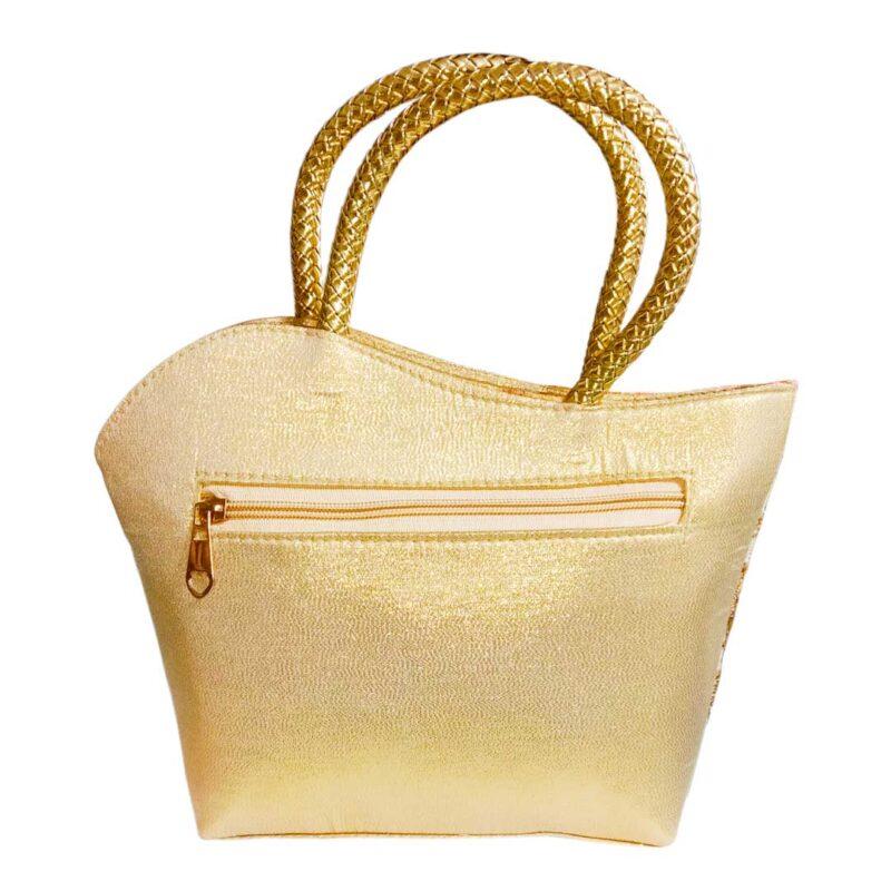 golden handbag image view 11