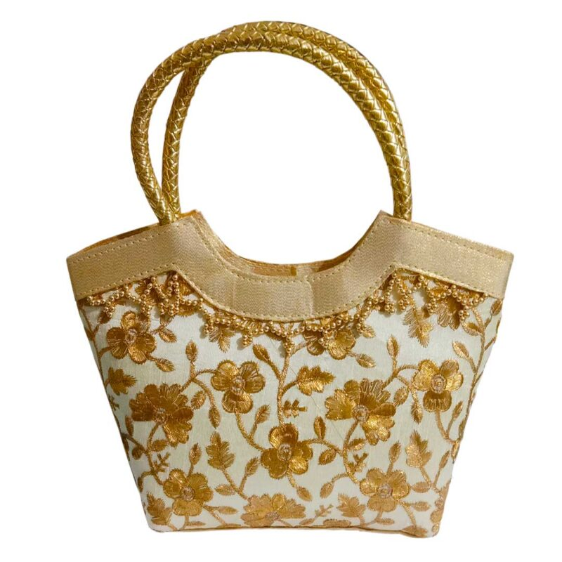 golden handbag image view 8