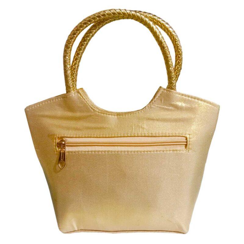golden handbag image view 7