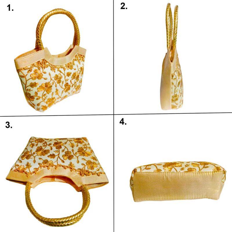 golden handbag image view 6