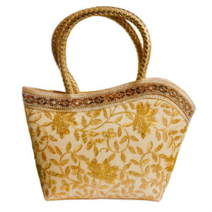 golden handbag image view 4