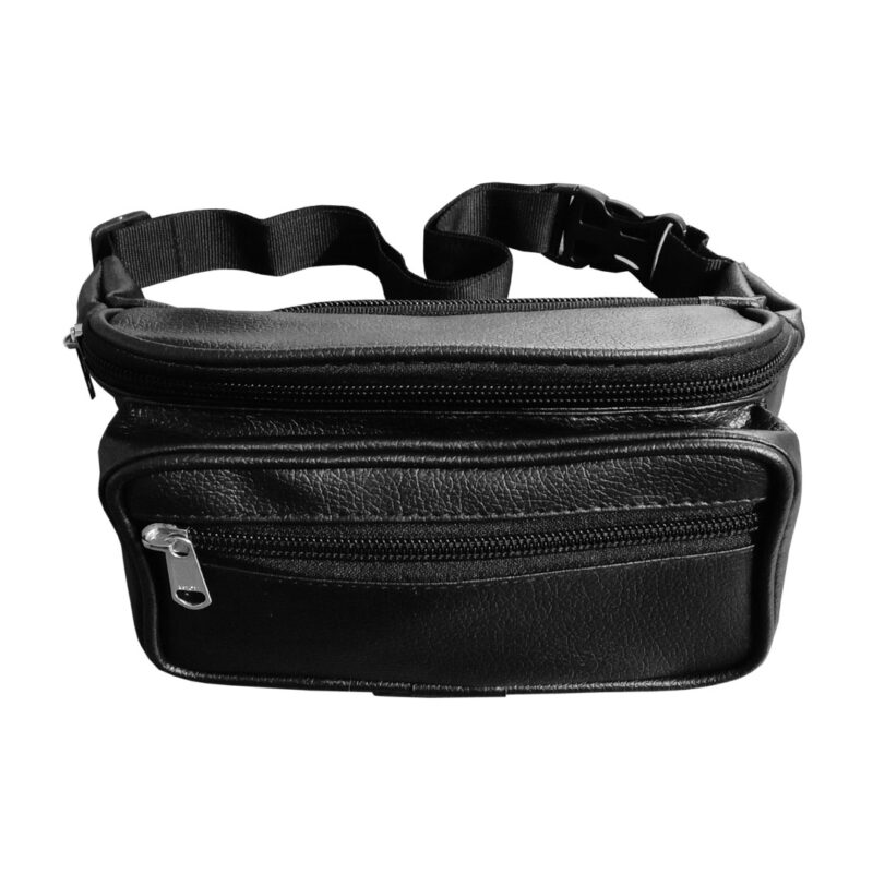 leather waist pouch image view 6