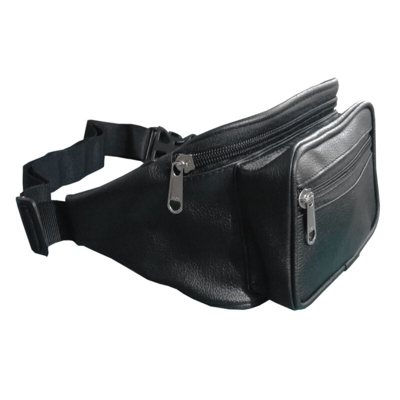 leather waist pouch image view 5