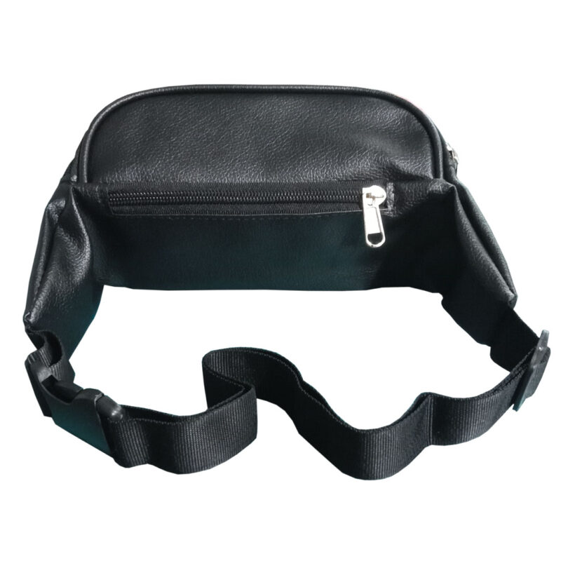 leather waist pouch image view 4