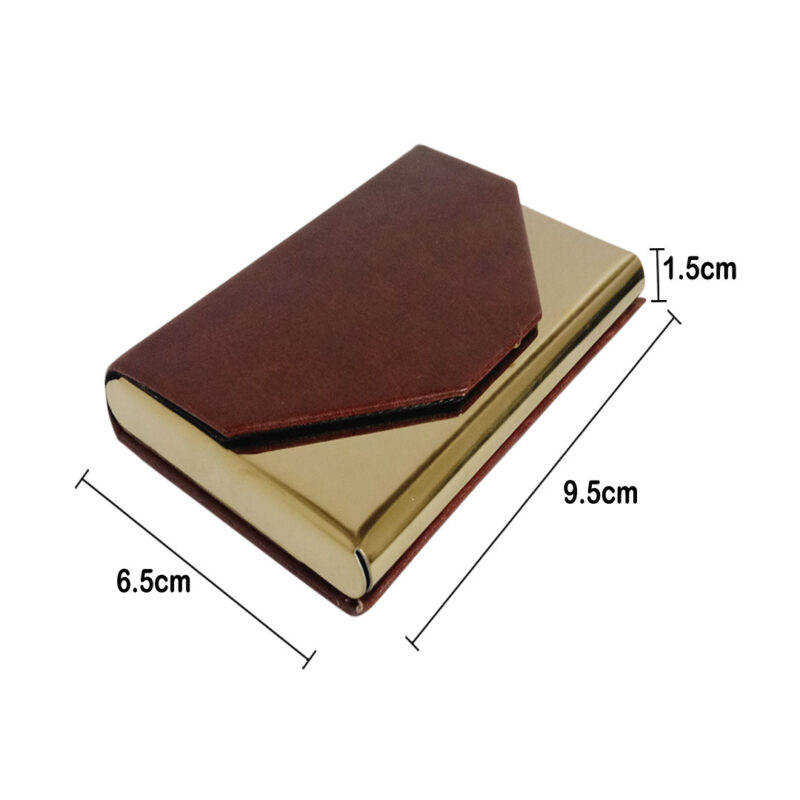 Brown Card Holder - Image View 5