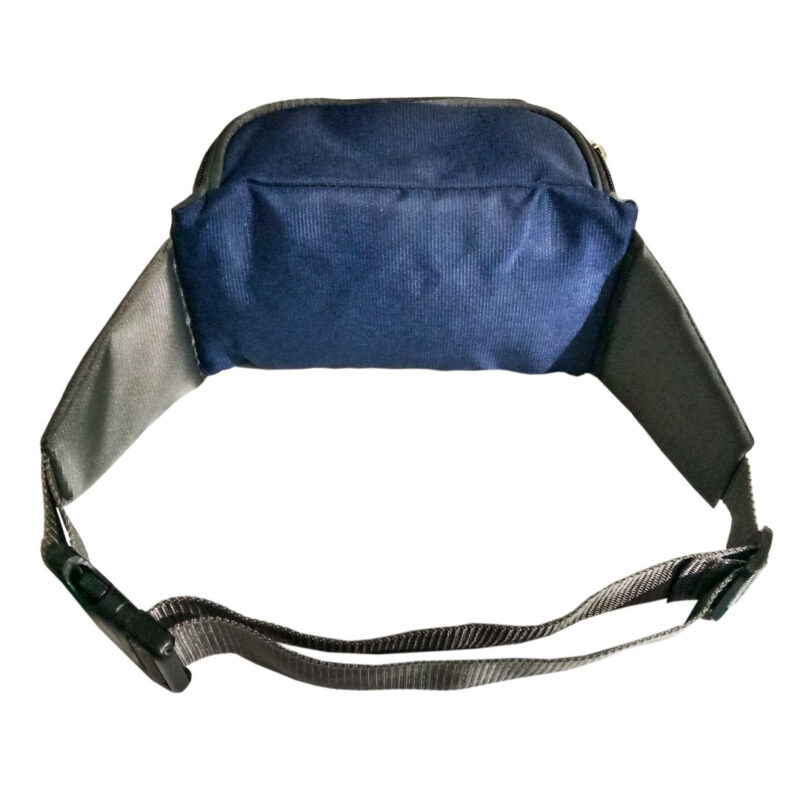 Blue And Black Waist Pouch - Image View 4