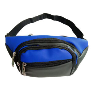 Black and Blue Waist Pouch