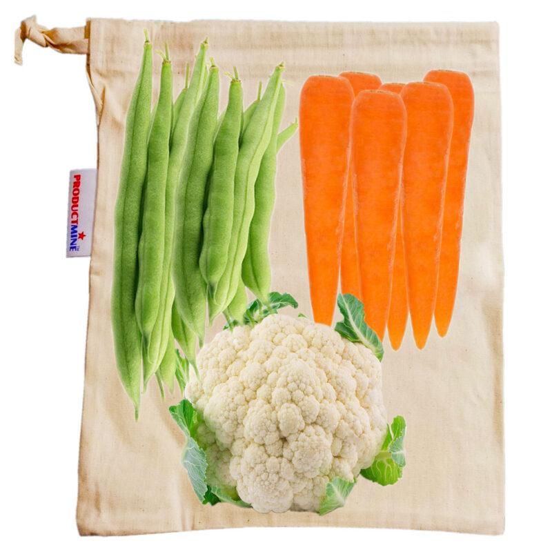 Cotton Fridge Bags - Image View 4