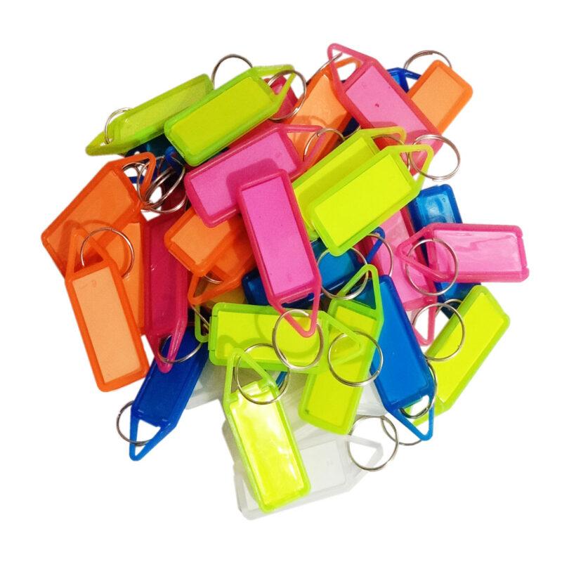 Colourful Reusable Economical Key Tags Image view 2