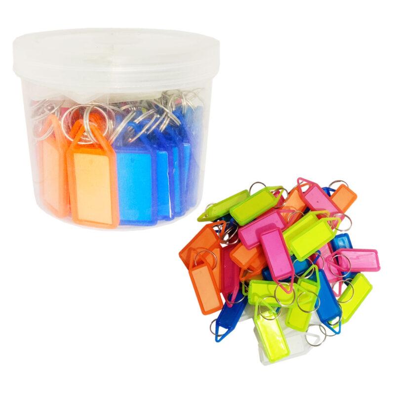 Colourful Reusable Economical Key Tags Image view 4