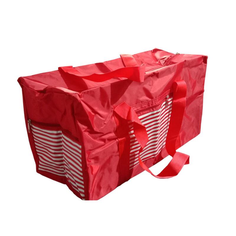 ABHI BAG RED 3 - SMILE BAZAR