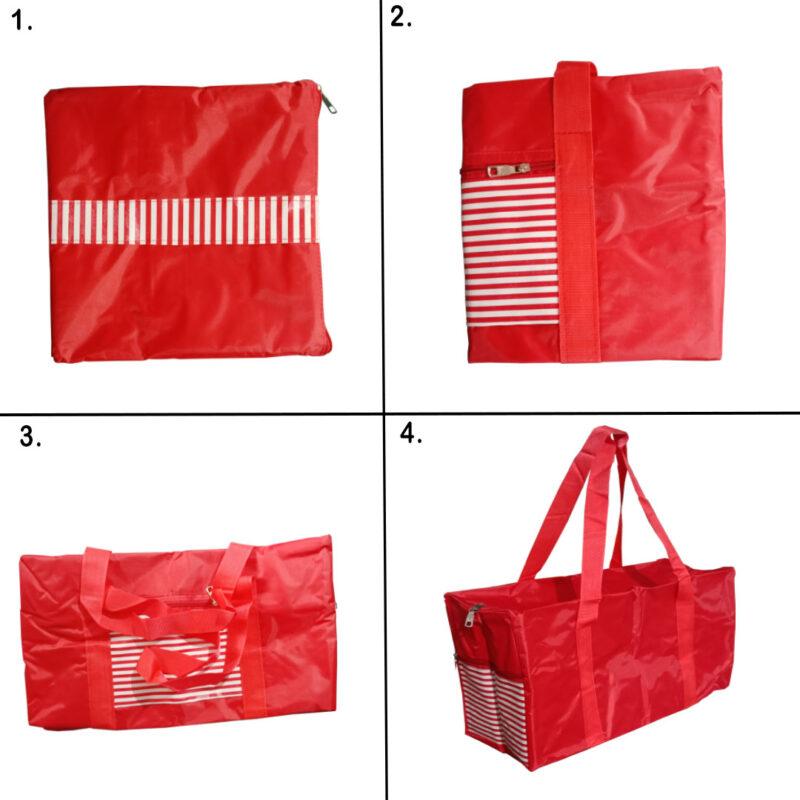 ABHI BAG RED 4 - SMILE BAZAR