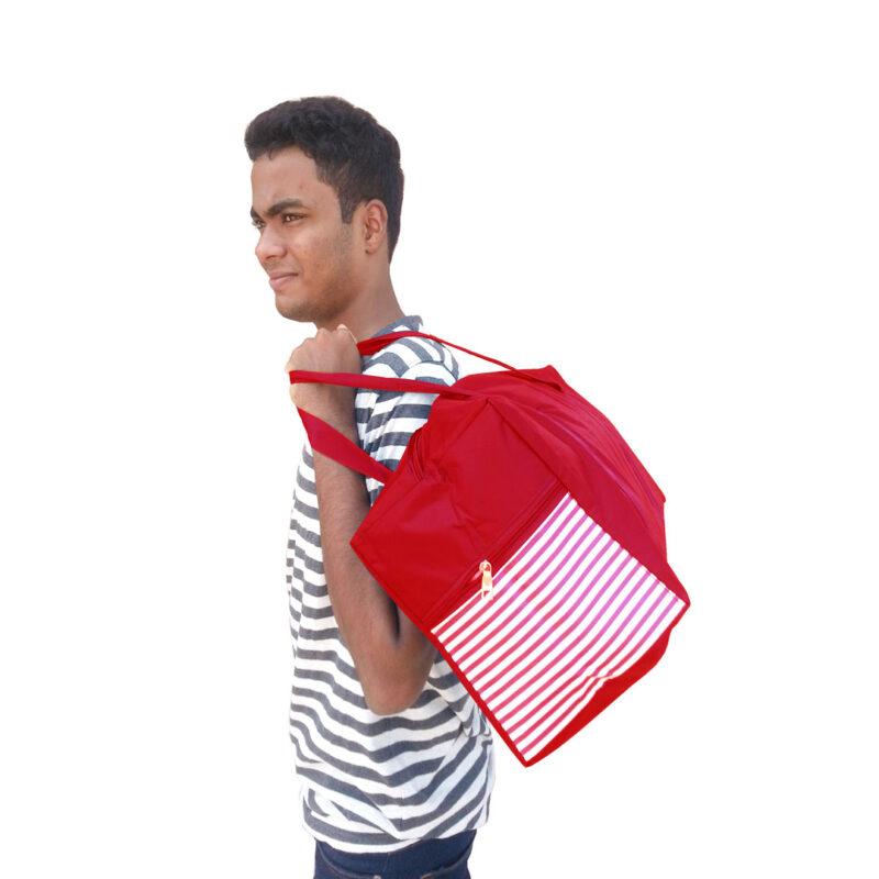 ABHI BAG RED 6 - SMILE BAZAR