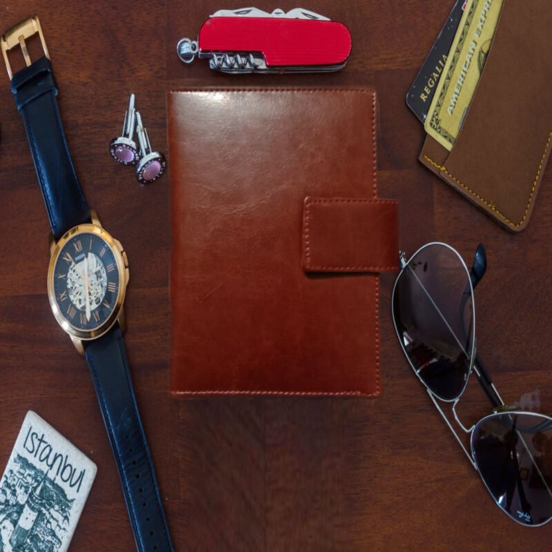 Leather Passport Cover - Image View 5