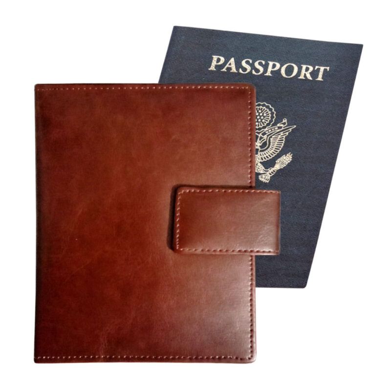 Leather Passport Cover - Image View 6