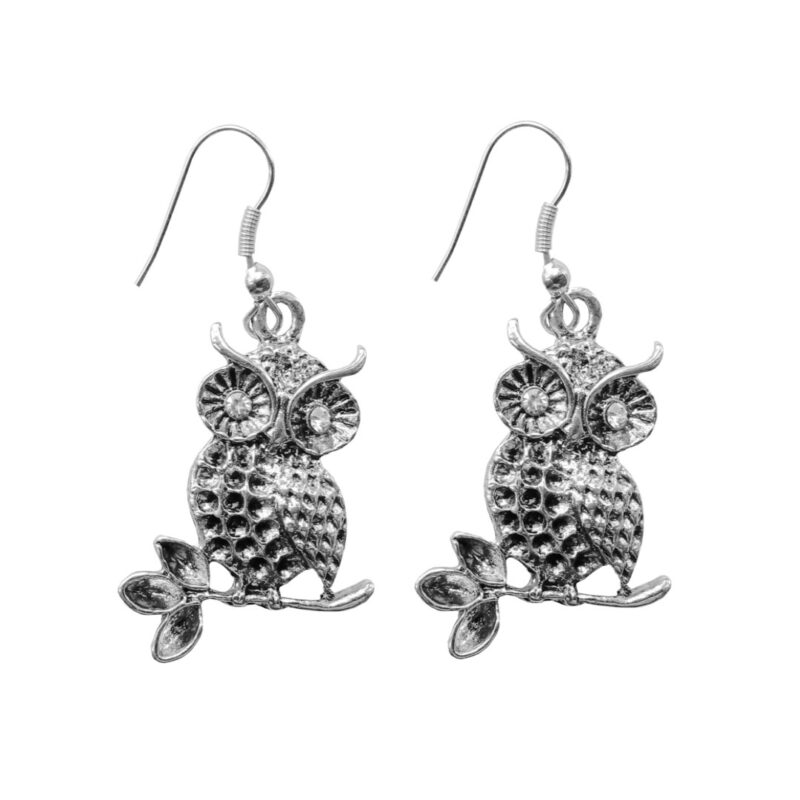 OWL EARRINGS -IMAGE VIEW 1